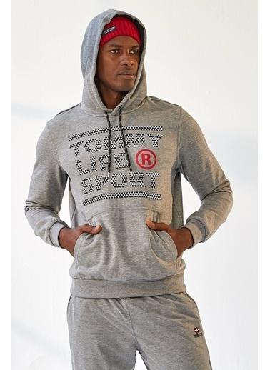 Tommy Life Sweatshirt Gri
